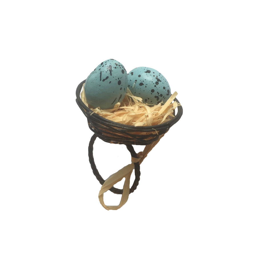 Robin's Egg Nest Napkin Ring