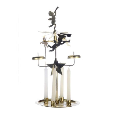 Swedish Brass Angel Candle Chimes