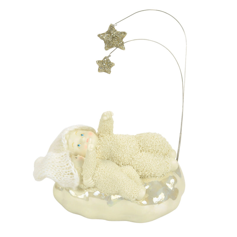 """Snowbabies"" Star Gazing Figurine, Department 56, Putti Fine Furnishings"