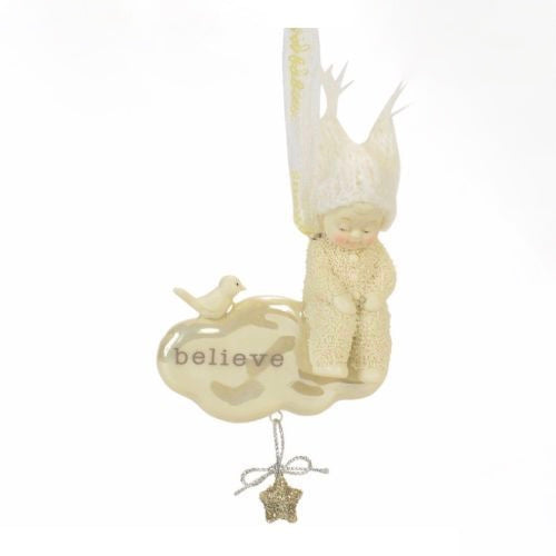 """Snowbabies"" Dream Believe Ornament"