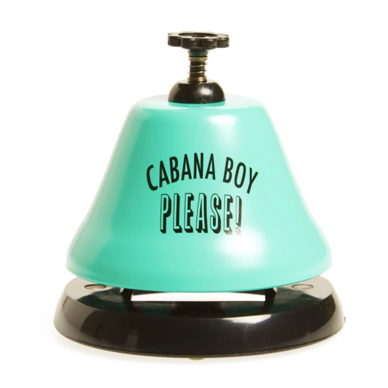 """Cabana Boy Please"" Bar Top Bell-SC-Slant Collections-Putti Fine Furnishings"