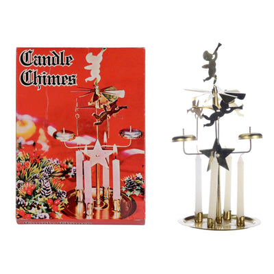 Swedish Brass Angel Candle Chimes, CT-Christmas Tradition, Putti Fine Furnishings