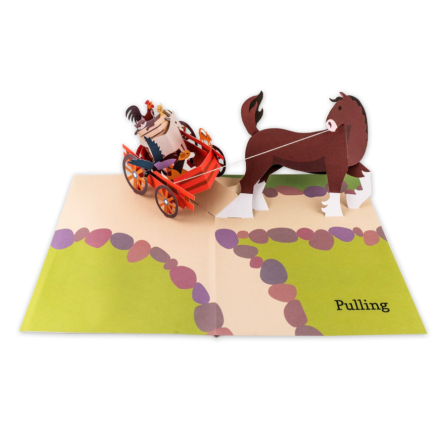 Ten Horse Farm Pop Up Book