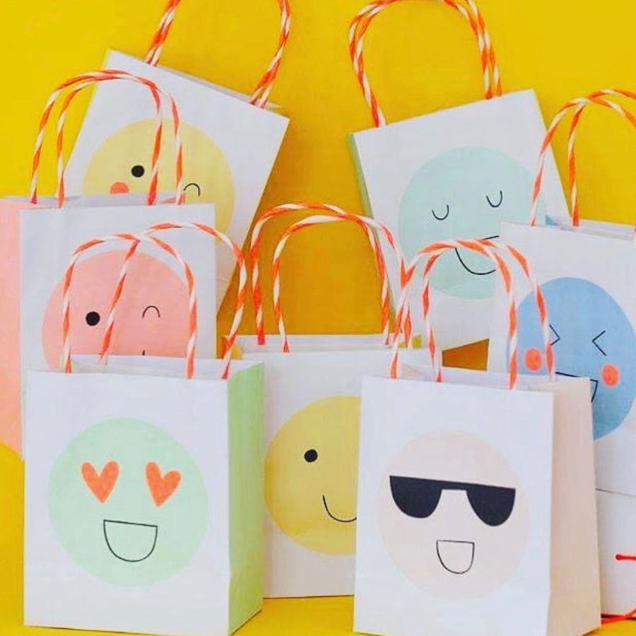 Meri Meri Emoji Party Bags, MM-Meri Meri UK, Putti Fine Furnishings