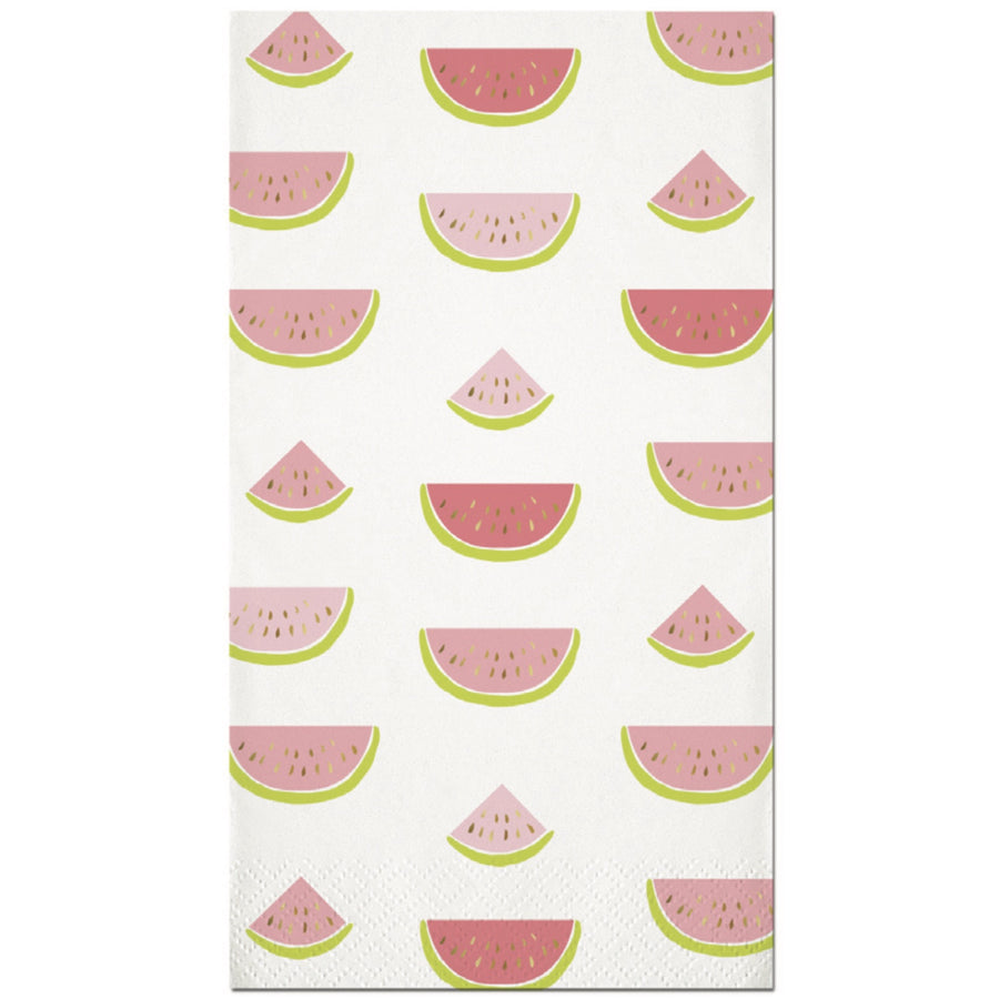Watermelons Paper Guest Towel
