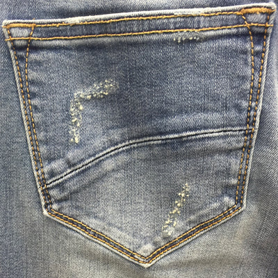 "Driftwood Jackie ""Cajun"" Hand Embroidered Jeans"