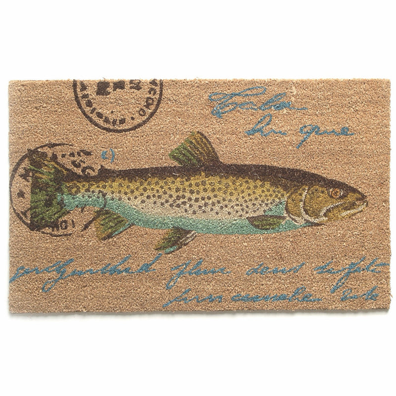 Fish Coir Door Mat