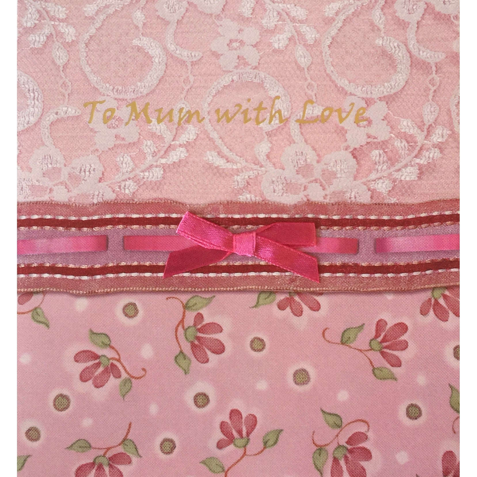 """To Mum with Love"" Greeting Card"