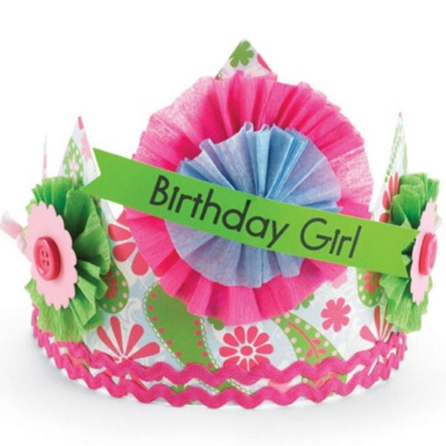 "Mud Pie ""Birthday Girl"" Crown"