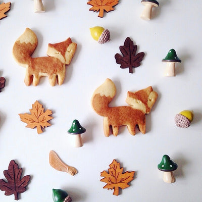 "Meri Meri ""Little Fox"" Cookie Cutters"