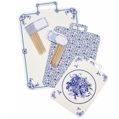 Party Porcelain Blue Cheese Boards