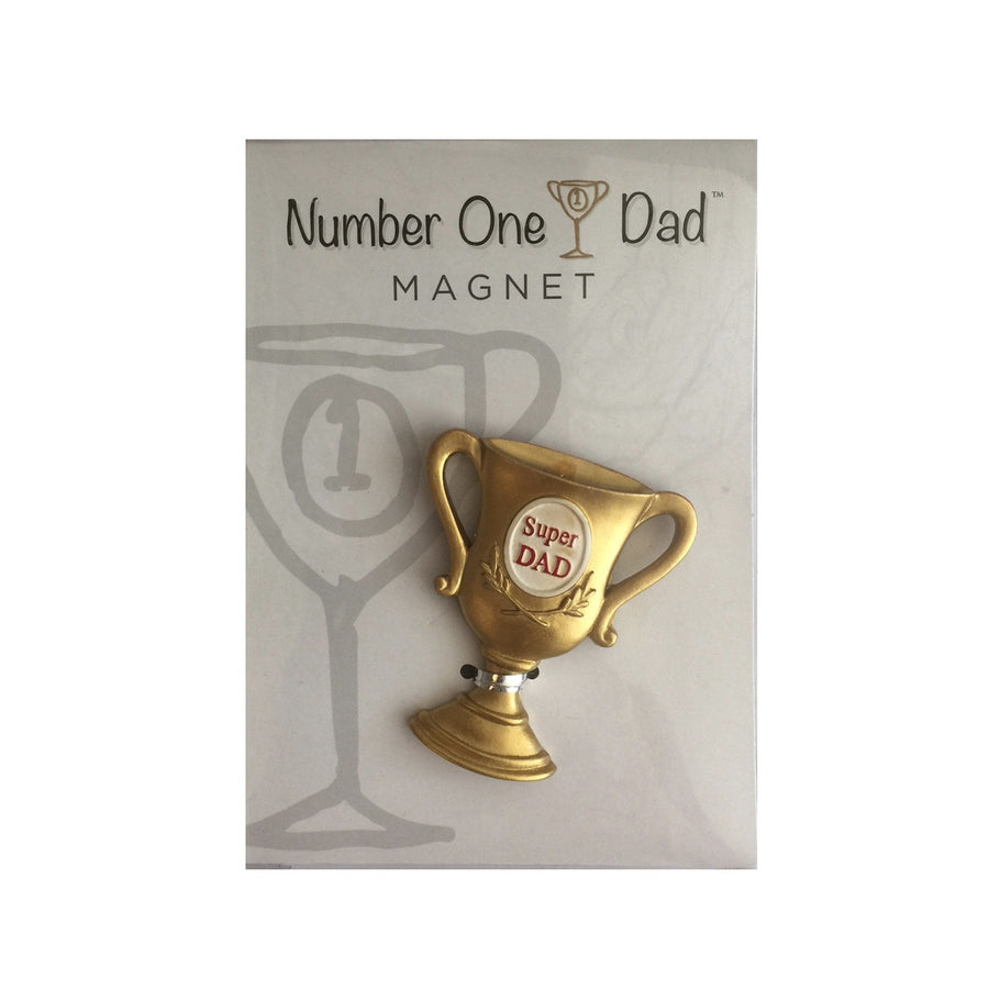 """Number One Dad"" Magnet, GC-Gift Craft, Putti Fine Furnishings"