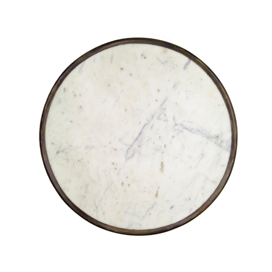 Absinthe Bistro Table - White Marble