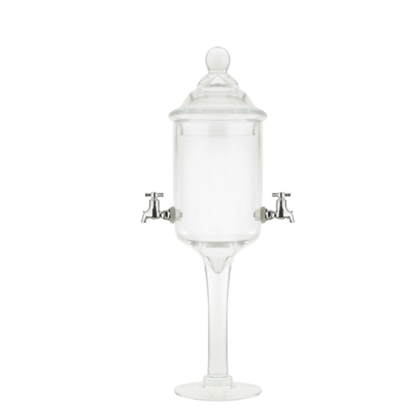 Glass Absinthe Fountain - 2 Spout