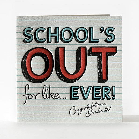 Schoolhouse Rock Greeting Card, ED-Ellum Design, Putti Fine Furnishings
