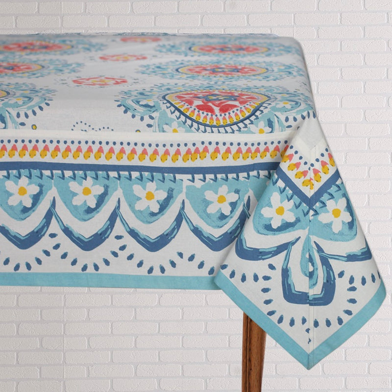 Rangoli Blue Table Linen