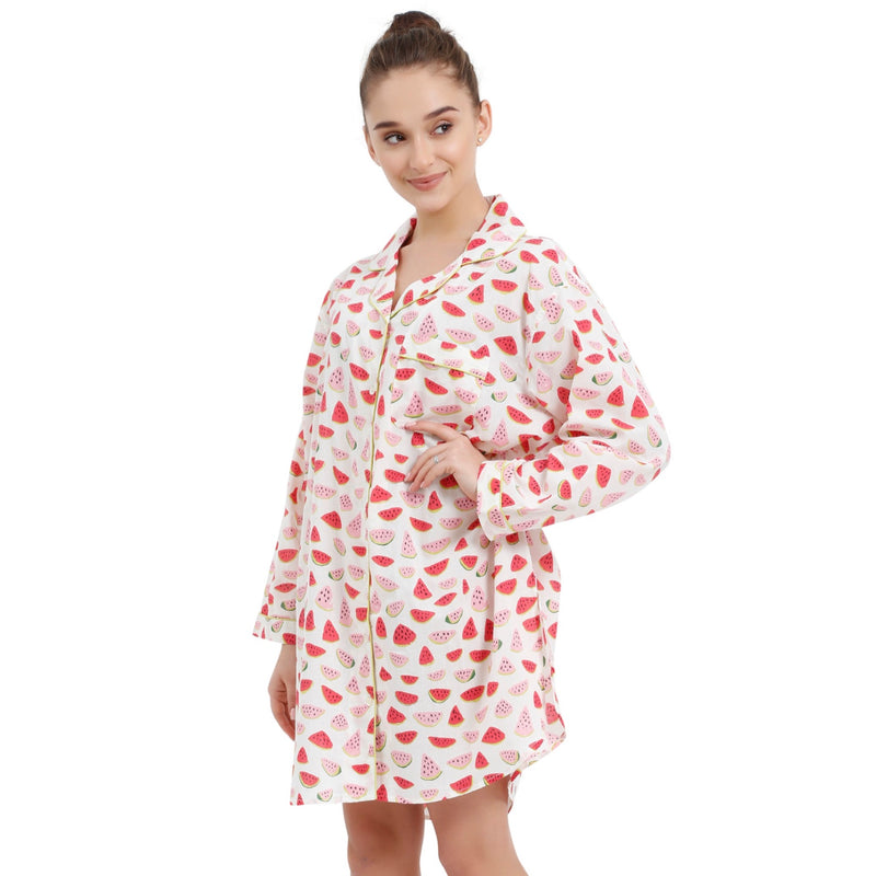 "Mahogany ""Watermelon"" - Nightshirt"