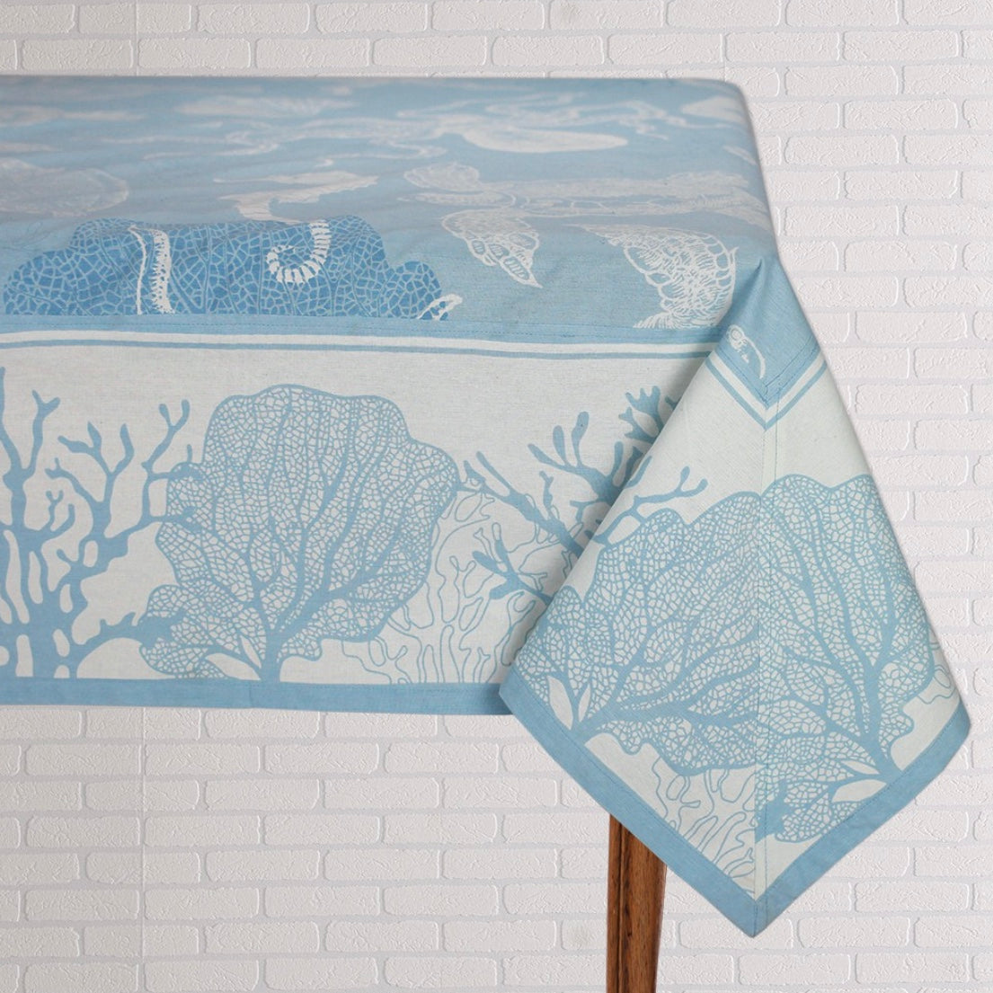 Ocean Blue Table Linen