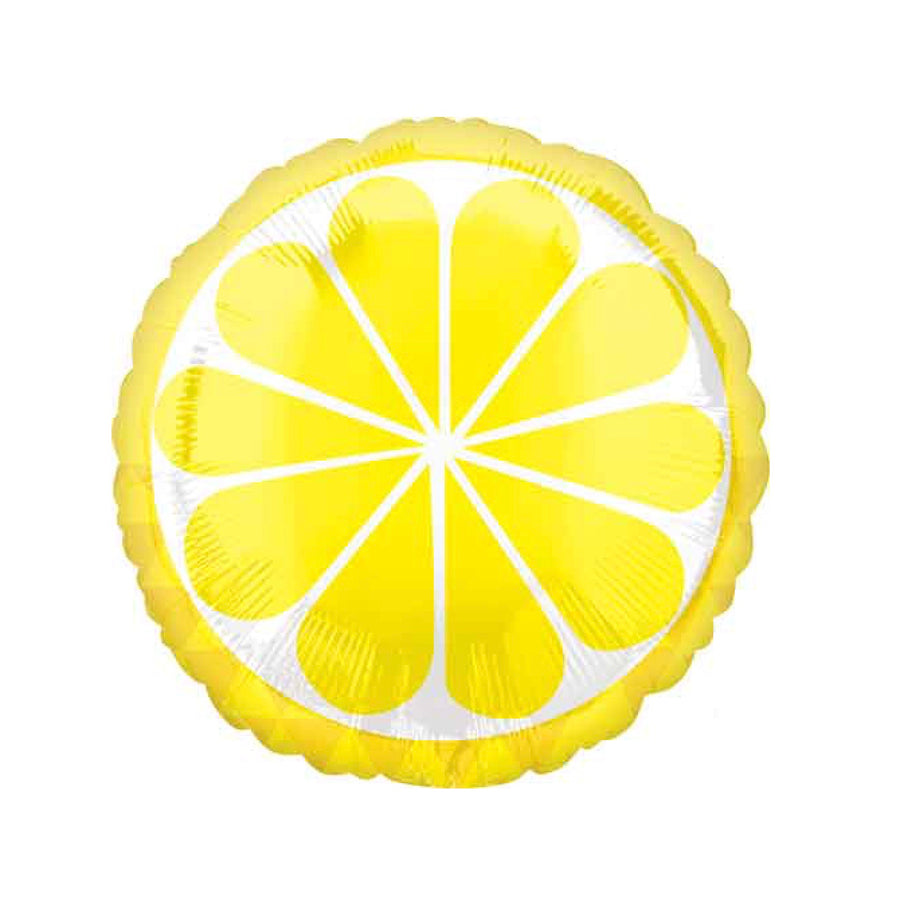 Tropical Lemon Mylar Balloon