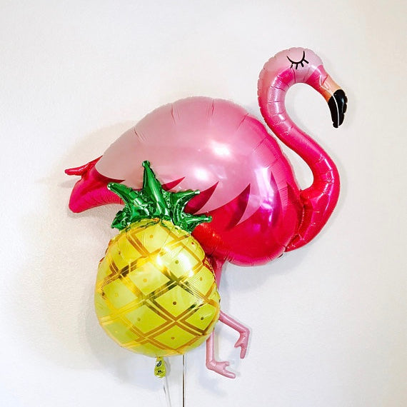 Hot Pink Flamingo Balloon