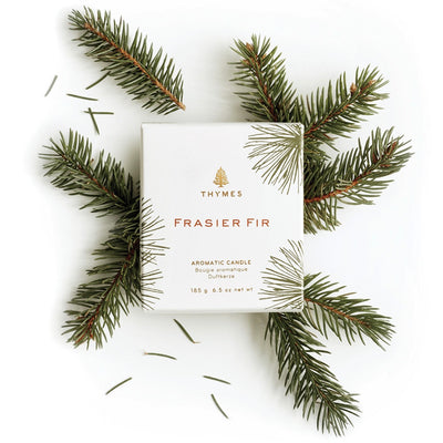 Thymes Frasier Fir Pine Needle Candle -  Home Fragrance - Thymes - Putti Fine Furnishings Toronto Canada