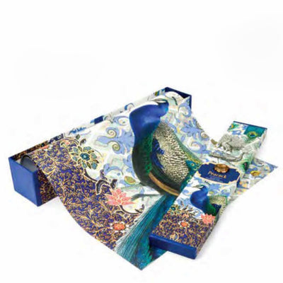 Peacock Drawer Liners
