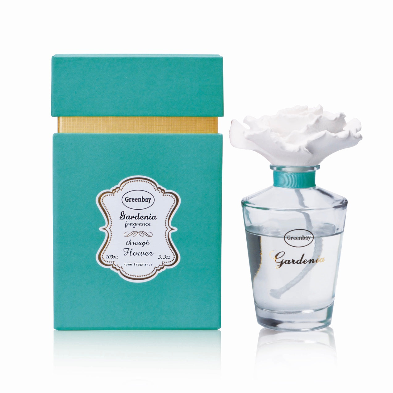 Gardenia Fragrance Oil Diffuser - Putti Fine Furnishings Canada
