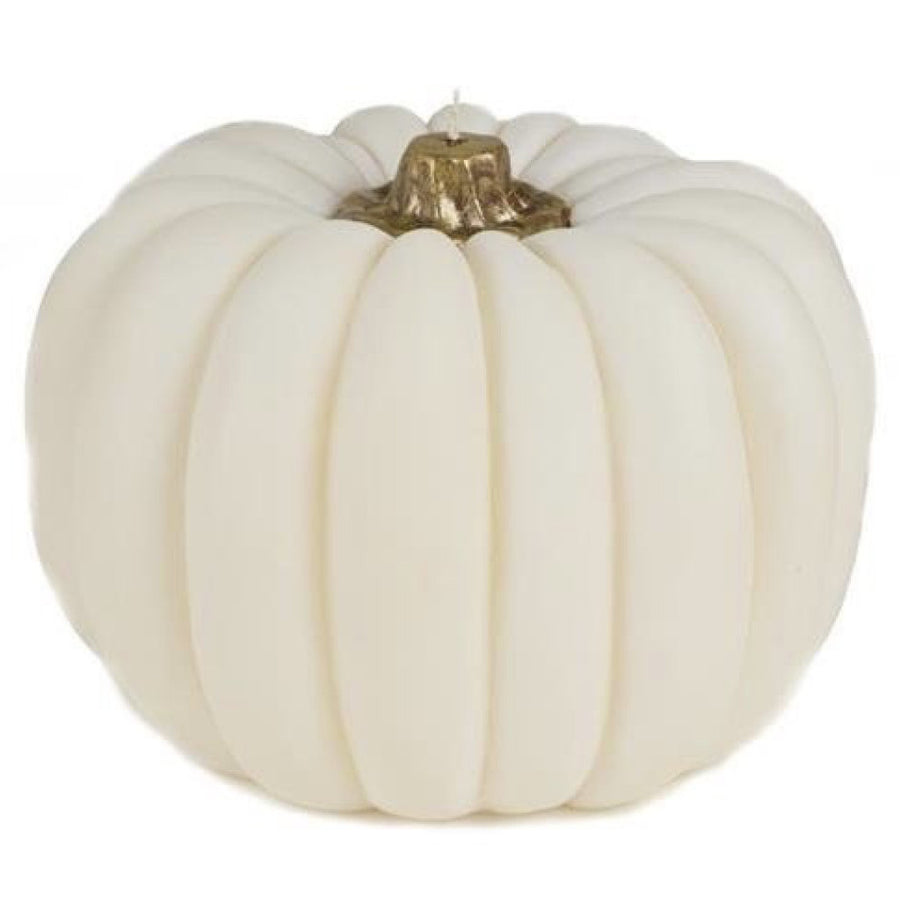 White Pumpkin Candle - Large