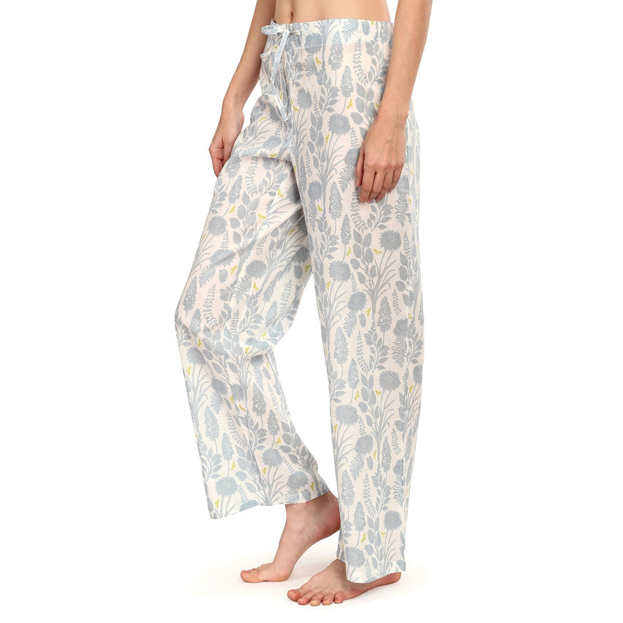 "Mahogany ""Chloe"" Blue - Pyjama Pant in Bag"
