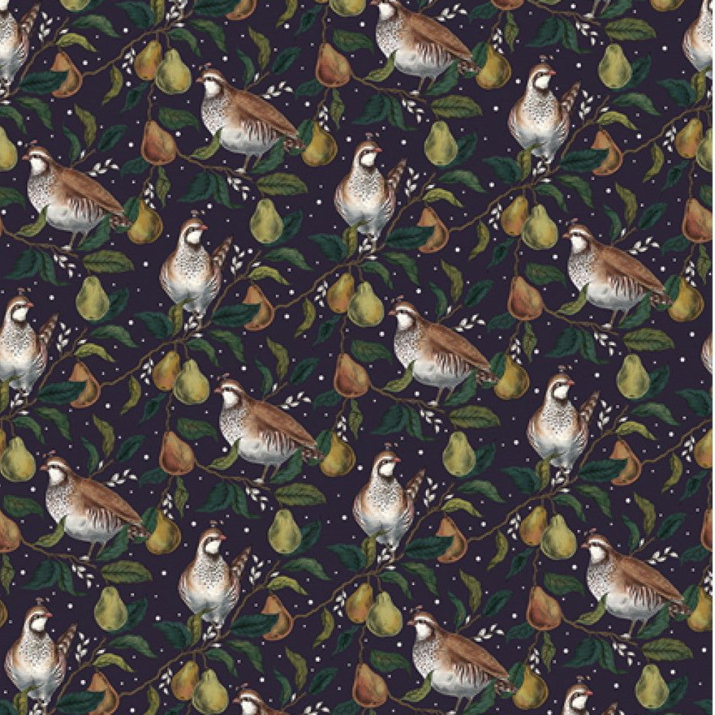 Art File Partridge in a Pear Tree Christmas Wrapping Paper - Putti