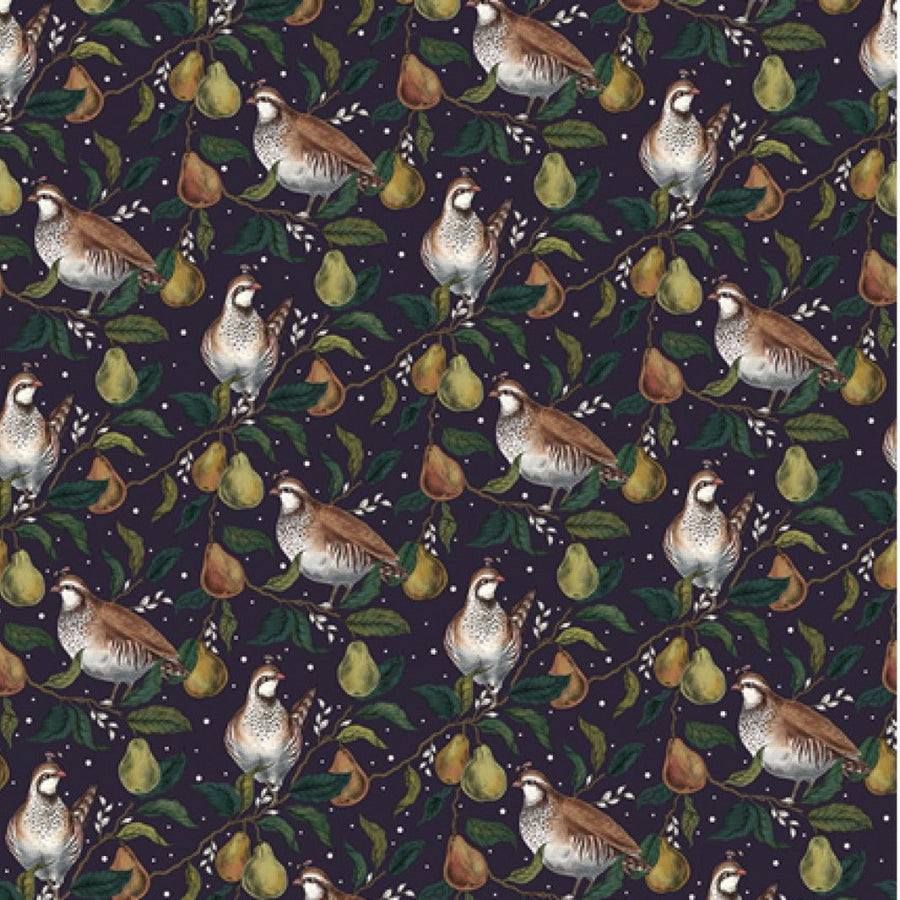 Partridge in a Pear Tree Wrapping Paper
