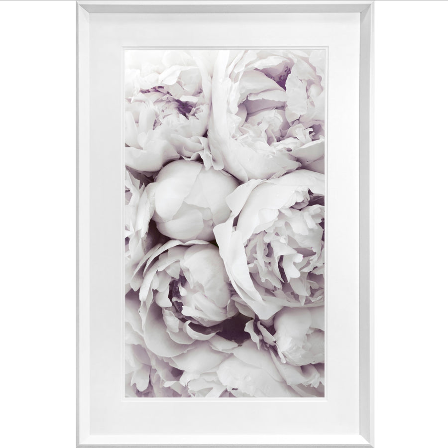 """Soft Pink Flowers"" Framed Print"