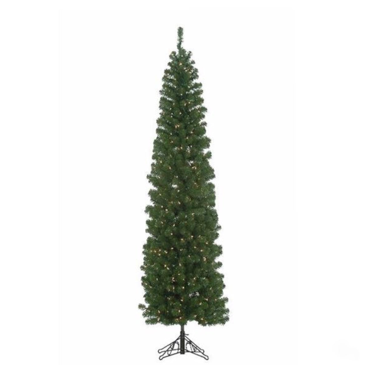 Pre-Lit Winchester Pine Pencil Christmas Tree 7-Foot - Putti Canada