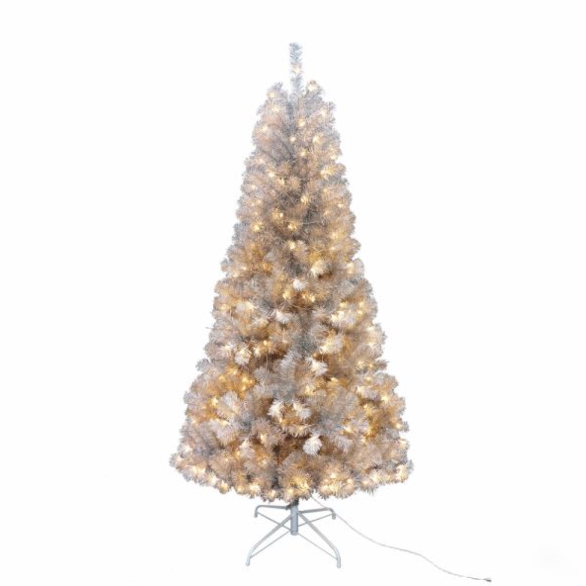 Pre-Lit Silver Point Pine Christmas Tree 7.5 Foot - Putti Christmas Canada