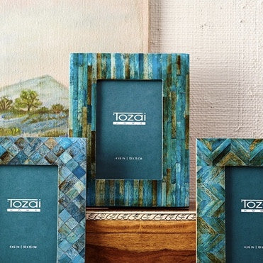 Tozai Teal Photo Frame