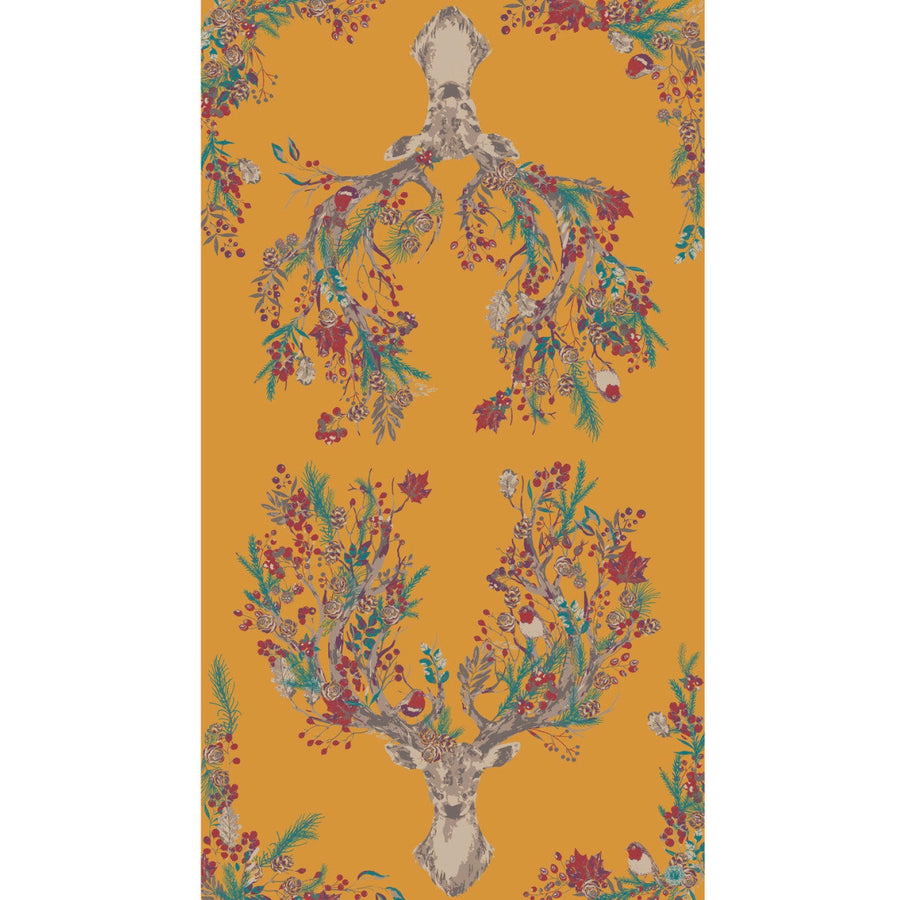 "Powder ""Enchanted Stag"" Print Scarf"