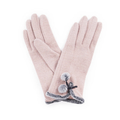 "Powder ""Betty"" Wool Gloves - Camel - Putti Fine Fashions Canada"