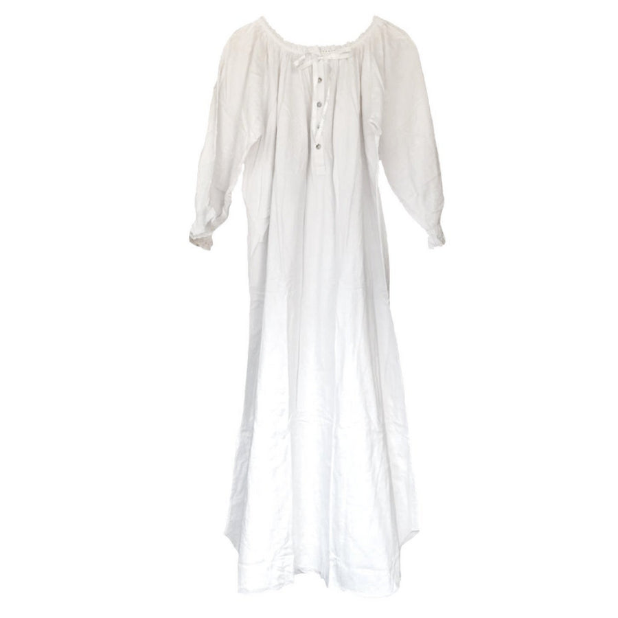 ed24278ab7 Victoriana White Cotton Night Gowns - Le Petite Putti - Toronto ...