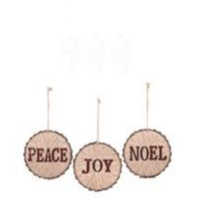 Wooden Tree Slice Ornament