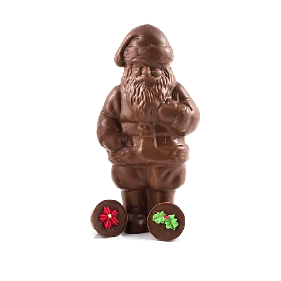 Chocolate Jolly Santa