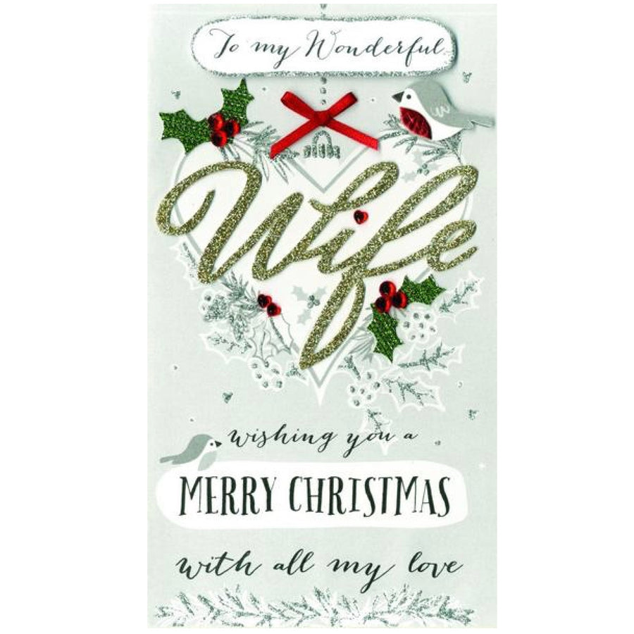 """To my Wonderful Wife ""Christmas Card"