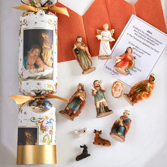 "Robin Reed ""Nativity"" Christmas Crackers, RR-Robin Reed - Paper E Clips, Putti Fine Furnishings"