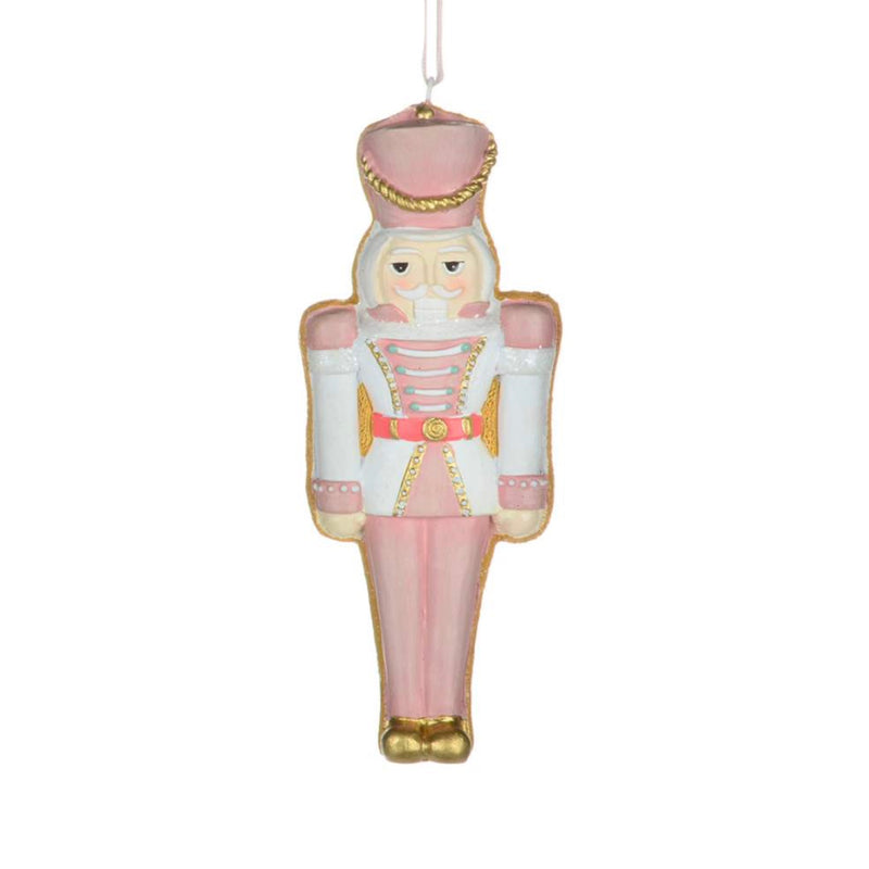 Pastel Nutcracker Cookie Ornament | Putti Christmas