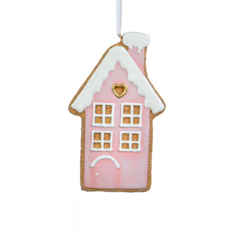 Pastel House Cookie Ornament