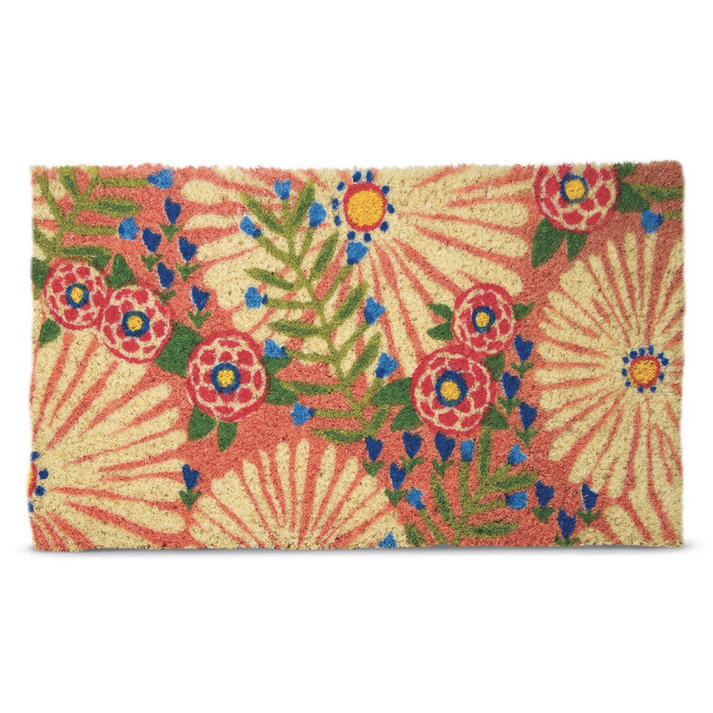 TAG Dreamy Daisy Coir Doormat | Putti Fine Furnishings Canada