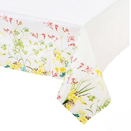 Truly Floral Paper Table Cover