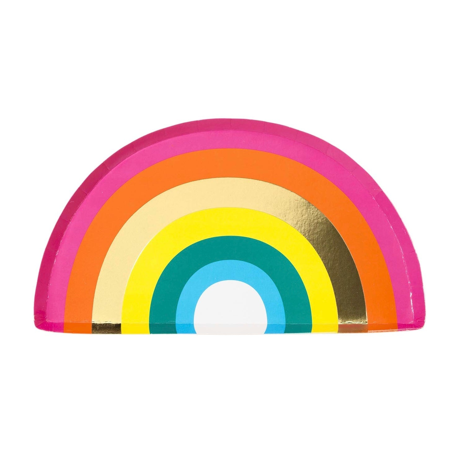 Birthday Brights Rainbow Shaped Plates | Le Petite Putti Canada