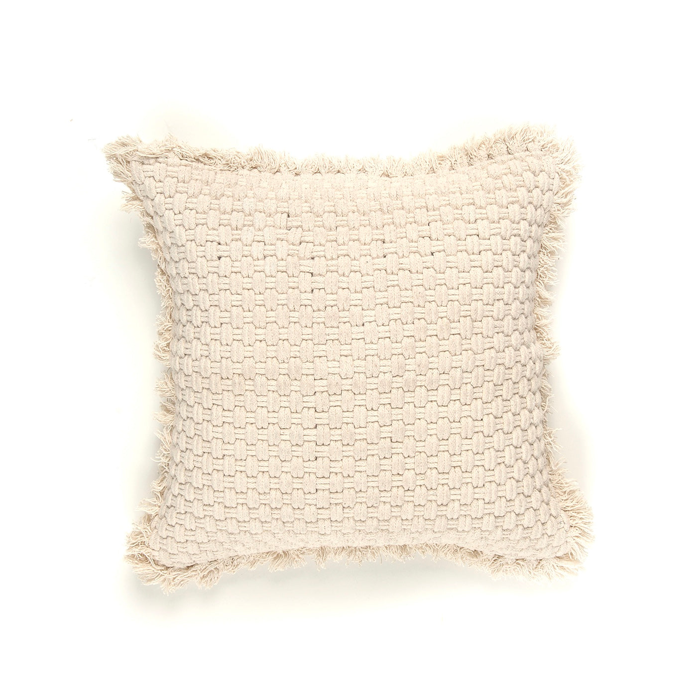 Natural Cotton Rope Pillow | Putti Fine Furnishings Canada