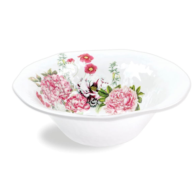 Michel Design Works Garden Melody Melamine Large Bowl | Putti Fine Furnishings