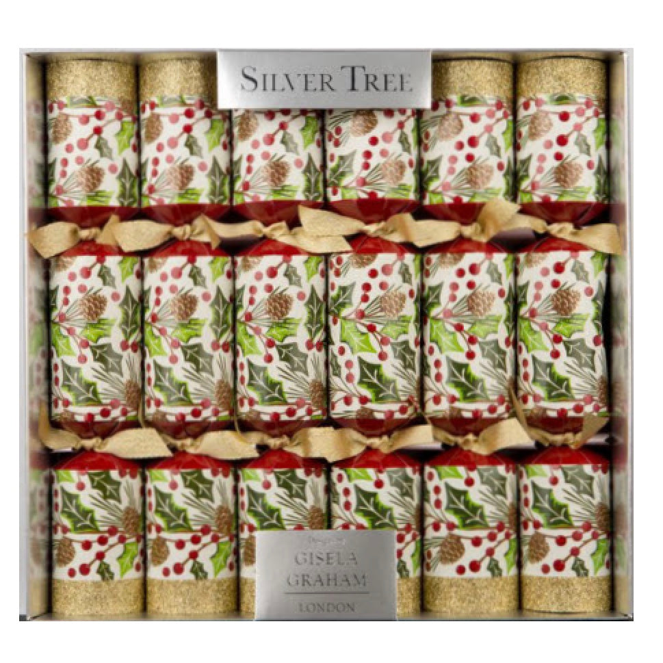 Gisela Graham Mouse Pinecone & Berries Christmas Crackers | Putti Christmas